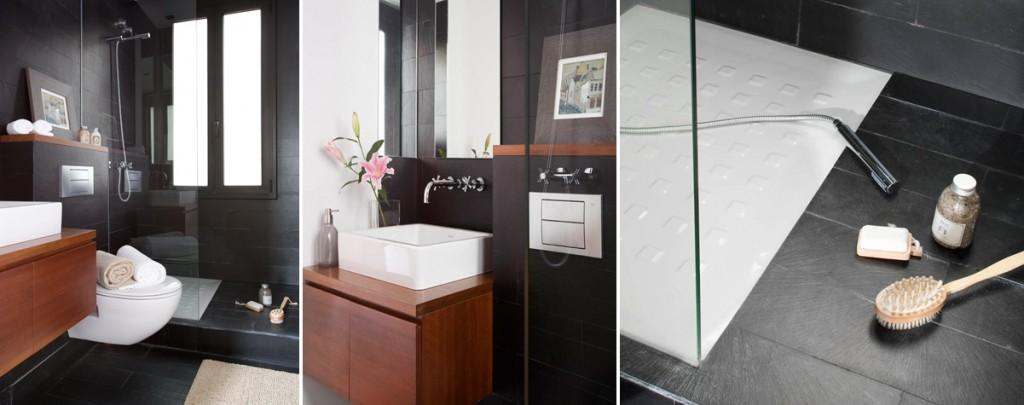 reformar el baño_negro