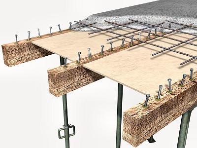 Forjados de madera como rehabilitarlos alma arquitectura - Cambiar vigas de madera ...