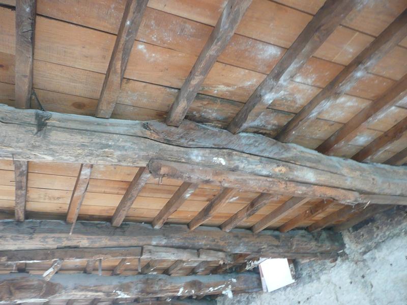 Forjados de madera como rehabilitarlos alma arquitectura - Como colocar vigas de madera ...